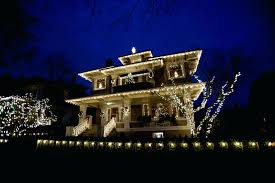 How To Install Outdoor Christmas Lights On House Christmas Lights For House Exterior Oceanarticles