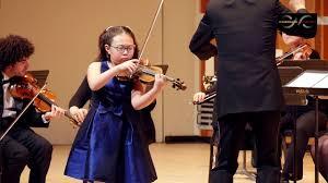 CAI Competition 2017 - Bernadette Kim, violin - YouTube