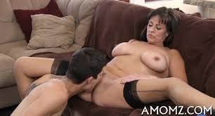 Big milf with young stud