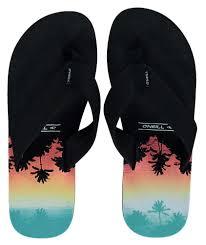 Flip Flop Shoe Size Chart Shack Oneill Shoe Size O Neill Imprint Pattern Flip Flops