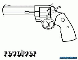 Nerf Gun Coloring Pages Free Printable Coloring Pages