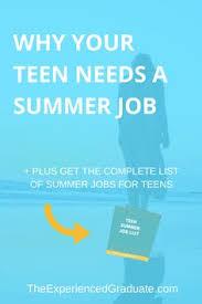 16 Best Summer Jobs For Teachers Images Summer Jobs For