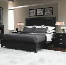 light grey walls white bedding and rug balance dark bedding furniture bedding for black furniture