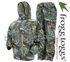 Frogg Togg Rain Gear Size Chart Details About Frogg Toggs Rain Gear As1310 58 All Sport Realtree Edge Camo Mens Suit Hunting