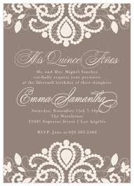 Invitations Quinceanera Quinceañera Invitations Match Your Color Style Free