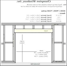 Pocket Door Dimensions Sliding Door Size Standard Sliding