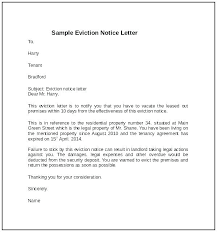 Commercial Eviction Notice Template Letter Picture Large Free Uk