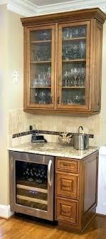 Mini Fridge Cabinet Refrigerator Bar  Diy14