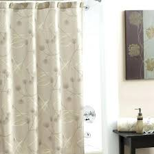 stall size shower curtain fabric shower ideas smlf white