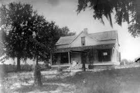 Florida Memory • Front view of Bonnie Mount - Melrose, Florida.
