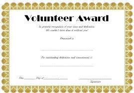 Appreciation Certificates Wording Magnificent Volunteer Award Template Wording Certificate Template Gbooks