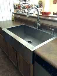 farmhouse sink with laminate countertops stunning stainless steel countertop also interior design 6