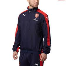 durable performance men puma nal stadium vent jacket peacoat high risk red 750738 01