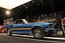 Barret-Jackson 2012: 1969 Ford Mustang 428 Cobra Jet R Code sells ...