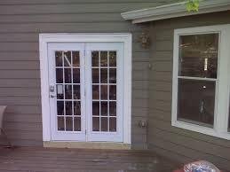 exterior patio doors install