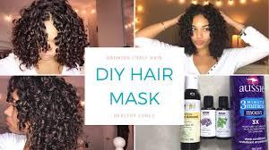 diy hair mask how to grow healthy curly hair affordable hair mask briana monique