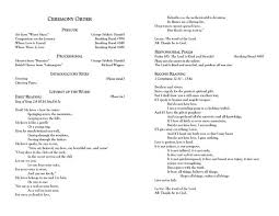 Amazing Template For Wedding Programs Microsoft Word Text For