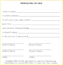 watercraft bill of sale boat bill of sale form tn