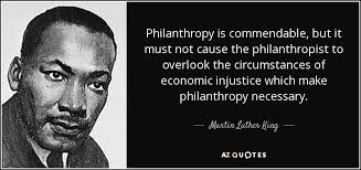 Philanthropy Quotes Magnificent Martin Luther King Jr Quote Philanthropy Is Commendable But It