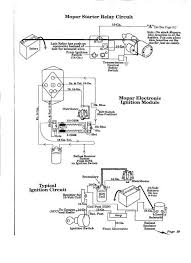 mopar starter solenoid wiring the h a m b