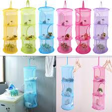 Nylon <b>Mesh</b> Fabric <b>Hanging</b> Laundry Basket Storage Basket For Toy ...