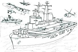 Battleship Coloring Pages Army Soldier Coloring Pages Men Of