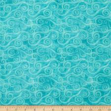 108  Wide Quilt Back Flannel Swirly Scroll Teal - Discount ... & 108