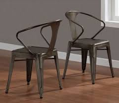 Amazoncom Vintage Tabouret Stacking Chair Set of 4 Steel