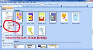 how to create a birthday card on microsoft word make your own birthday invitations making birthday cards fun