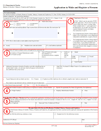 how to fill out atf form using a gun trust