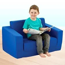 flip couch toddler small kids out sofa rubber blue 4 flip out couch cover children