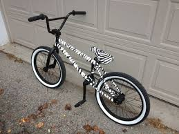 custom zebra bmx bike youtube