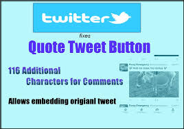 Quote Tweet Stunning Twitter Fixes Quote Tweet Allows Embedding Original Tweet And