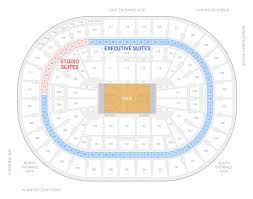 Portland Memorial Coliseum Detailed Seating Chart Portland Trail Blazers Suite Rentals Moda Center