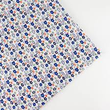 158cm half meter Navy floral print Cotton Quality Quilt Fabric ... & 158cm half meter Navy floral print Cotton Quality Quilt Fabric Tissue  Bundle bunting fabric Charm Sewing Adamdwight.com