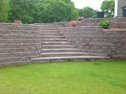 retaining wall costs image of allan block retaining wall best retaining wall costs per square foot