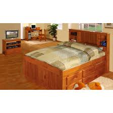 Full size furniture unique furniture Twin Standard Furniture Discovery World Furniture Honey Full Size Captains Bed