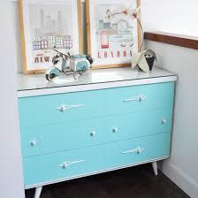 ... Vintage Tiffany Blue Dresser