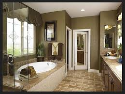 Remarkable Master Bathroom Remodeling Painting Is Like Landscape