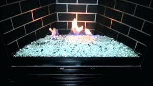 fireplace glass rocks for installation diy