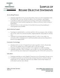 Good Objective For Resume Unique Objective Of Resume Mkma