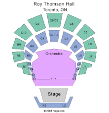 Roy Thomson Hall Seating Chart Detailed Classic Albums Live Toronto Tickets Classic Albums Live