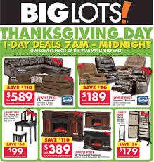 Big Lots Black Friday 2017 Sale & Furniture Deals