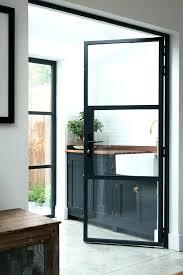steel and glass door metal glass doors room a steel frame internal door metal awnings for