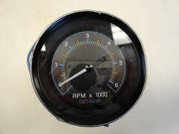 marine gauge set boat parts marine tachometer