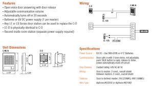 aiphone c ml a master station online AT&T Phone Box Wiring Diagram Aiphone Le D Wiring Diagram #12