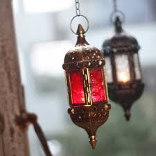 Moroccan Porch Light Retro Hanging Candle Lantern Metal Hollow Chandelier With 66cm Chain Moroccan Style For Garden Or Porch