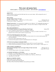 Sample Resume For Fresher Teachers Listmachinepro Com