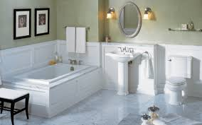 Bathroom Simple Bathroom Decoration With White Wood Bathroom Wall - Simple bathroom