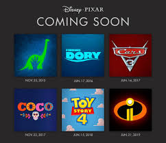toy story 4 2017 poster. Interesting 2017 Disney Pixar 2015  2019 Releases For Toy Story 4 2017 Poster